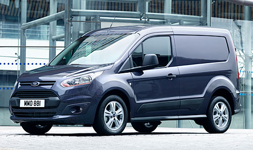 ford transit courier pris
