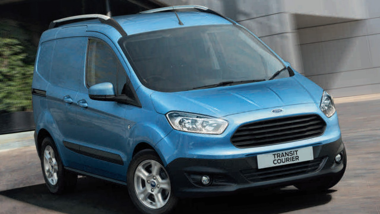 ford transit courier youtube