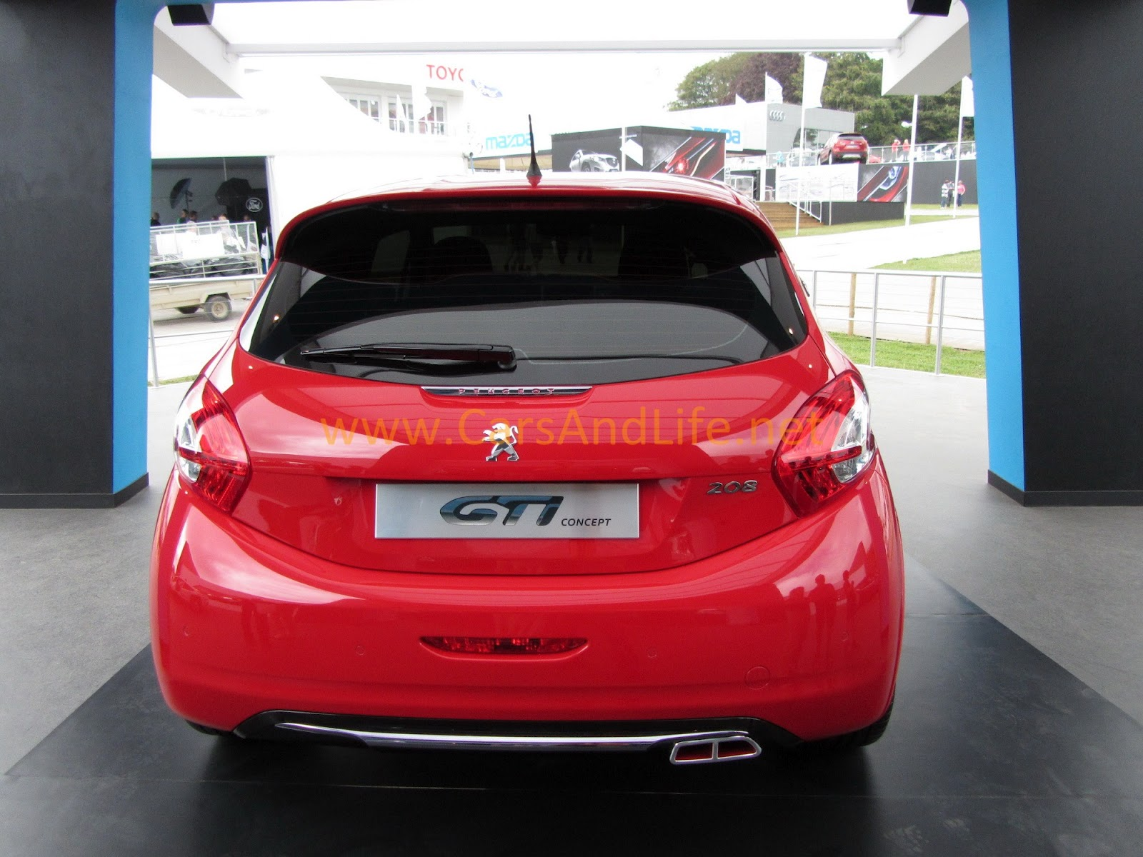 peugeot 208 gti technical data