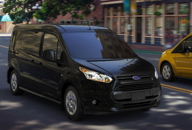 the new ford transit courier