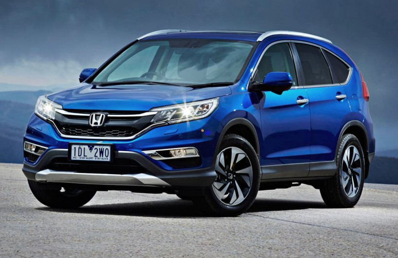 when do the 2015 honda cr v come out