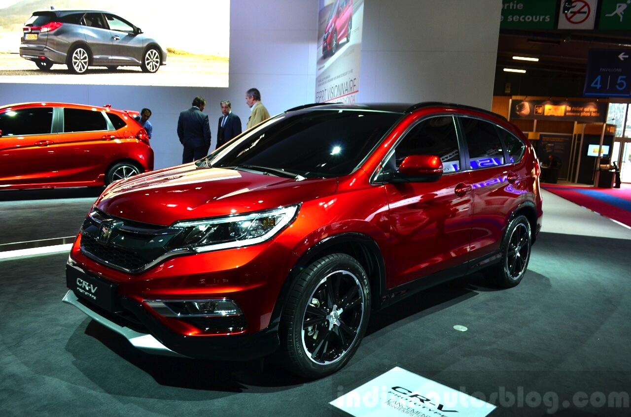 when will the honda crv 2015 be available