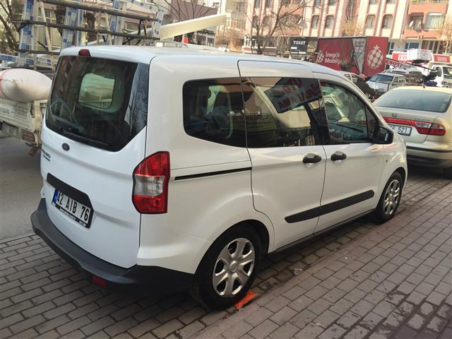 yeni ford tourneo courier model galerisi