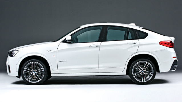 yeni model bmw x4 model resmi